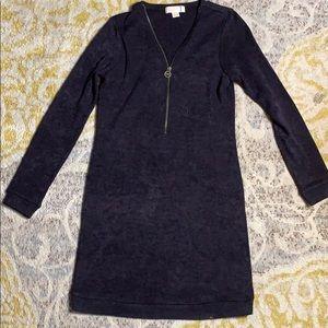 Michael Kors Purple Sweater Dress